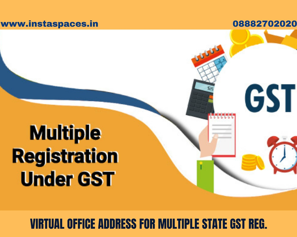 You can book virtual office for GST registration at Prime Location in India
